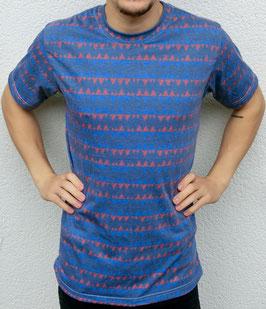 """""""rough"""" blue T-Shirt unisex"""