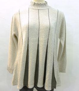 日本製チュニックセーター