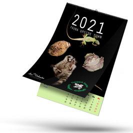 Monatskalender Tierpark Fauna Upside Down 2021 HERZENSPROJEKT