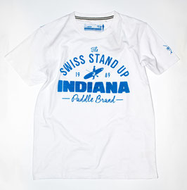 Indiana SUP T-Shirt WEISS