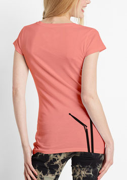 WOMEN BD T-SHIRT CORAL