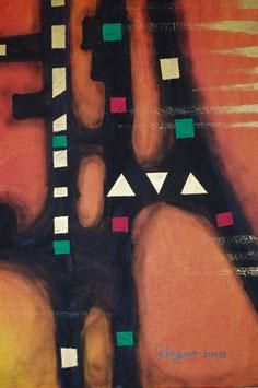 Acryl-Gemälde, 2013,