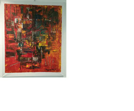 ORIGINAL ACRYL BILD /PAINTING/LEINWANDS/ CANVAS/UNIKAT 100 cm x 120 cm
