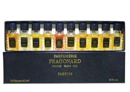 Fragonard - Coffret 10 miniatures