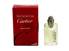 Cartier - Déclaration