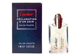 Cartier - Déclaration d'Un Soir