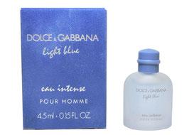 Dolce & Gabbana - Light Blue  - Eau Intense pour Homme C