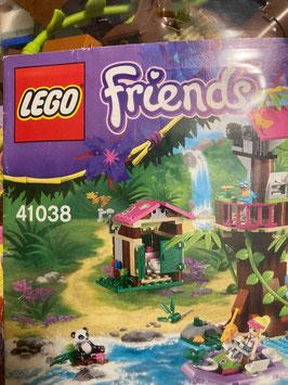 LEGO-Friends Grosse Dschungelrettungsstation (komplett ohne Schachtel)