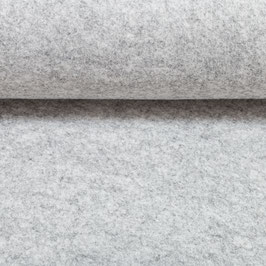 Bastian Bastelfilz 3,3 mm silbergrau meliert