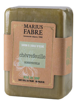 Marius Fabre Seife Geißblatt mit Oliven- und Kokosöl