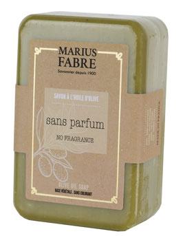 Marius Fabre Olivenölseife natur - ohne Parfum - angereichert mit Karitébutter