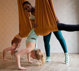 Proefles  Aerial Yoga, Yoga in de lucht in Zoetermeer