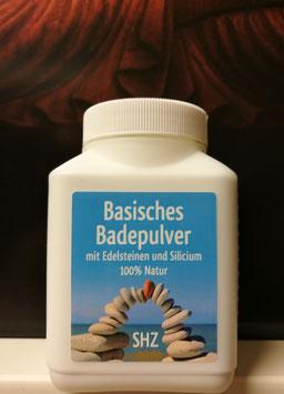 Basisches Badepulver  mit 8 verschiedenen Edelsteinen + Silizium