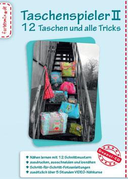 Taschenspieler II, 12 Taschen-Schnittmuster auf CD