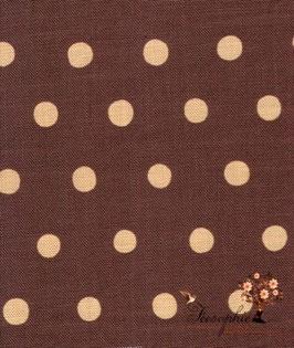 'dot.dot.dot' dunkelbraun/beige Art.-Nr. 363/H