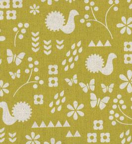 'Garden-Critter Stamp' senfgelb/natur Art.-Nr. 155/B