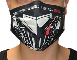 "Maske ""Goblin Slayer KILL"" aus 100% Bio-Baumwolle"
