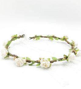 Blumenkranz Brautkranz mit kleinen Rosen