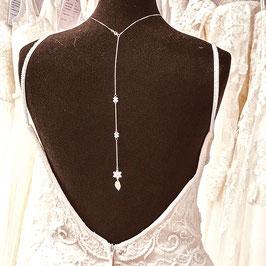 Kette - Rückenkette für die Braut in Rosé-Gold