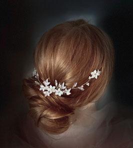 Haarkamm White Wedding