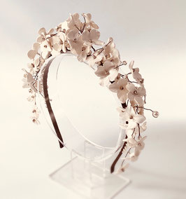Haarschmuck für die Braut - Diadem Blütenmeer