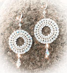 Statement Ohrringe für die Boho Braut - Traumfänger