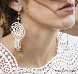 Statement Ohrringe für die Boho Braut - Gypsy Style