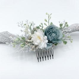 Romantischer Winterbraut Blumenschmuck - Blue Dreams