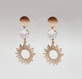 Statement Ohrringe für die Boho Braut - Lovely Sun