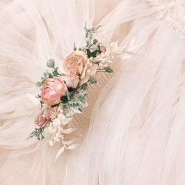 Braut Accessoire, Brautschleier mit Blumen