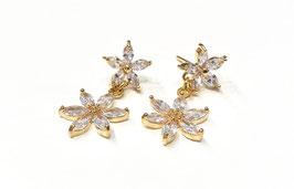 Ohrringe für die Braut - Sternenhimmel