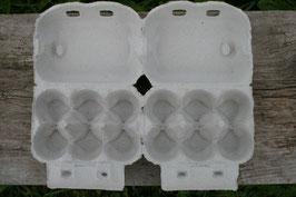 Doppel-Eischachtel für 12 Hühnereier