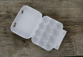 Eischachtel für 12 Wachteleier