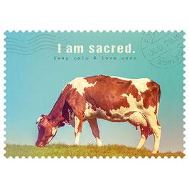 Postkarte I am sacred