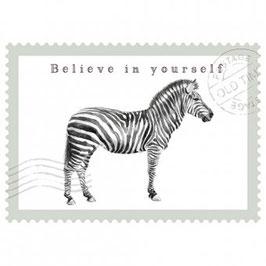 Postkarte Believe in Yourself