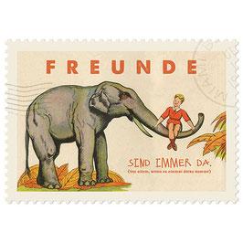 Postkarte Freunde
