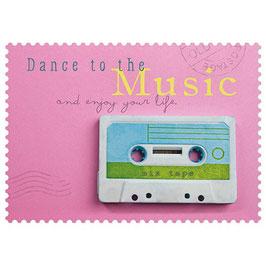 Postkarte Dance to the Music