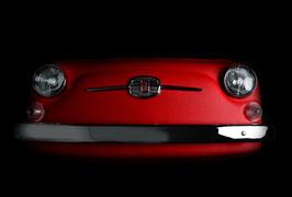 Front FIAT 500 Kunstleder rot