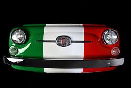 Front FIAT 500 tricolore lackiert