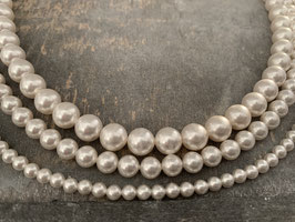 Perlenkette 4,6,8,10