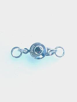 Knopfverschluss 8mm mit doppel Ringe
