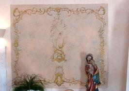 Wandmalerei auf Leinen