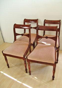 4 Biedermeier Stühle