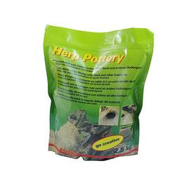 Herp Pottery Tongranulat - 2,5kg /HP-2