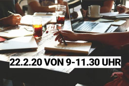 Gruppencoaching 22.2.20