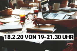Gruppencoaching 18.2.20