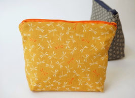 Cosmetic case BENI Tonbo Mustard Yellow