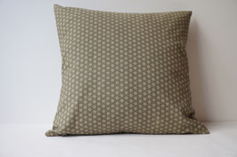 SHIKAKU Cushion Asanoha Olive green