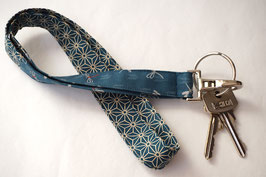 Key band ITO Asanoha Petrol blue