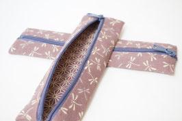 Pencil case ENPITSU Tonbo Lilac